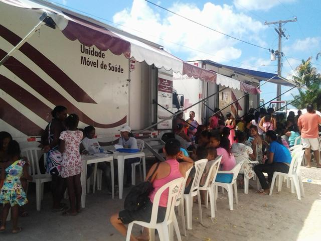 FJS promove saúde no município de Jaguaripe/BA