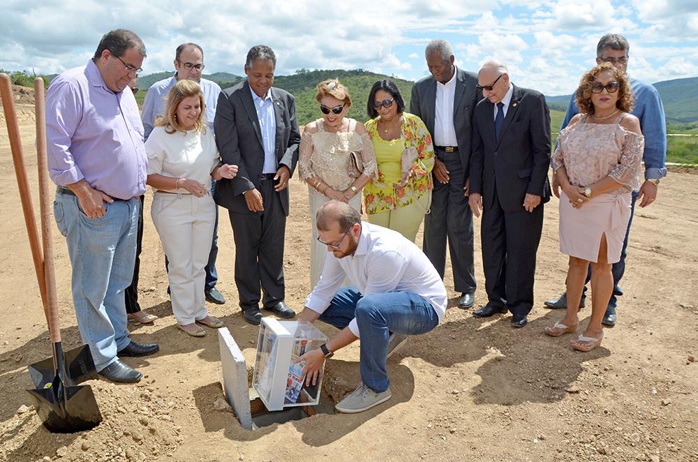 Lançamento da Pedra Fundamental - Centro de Reabilitação de Jequié