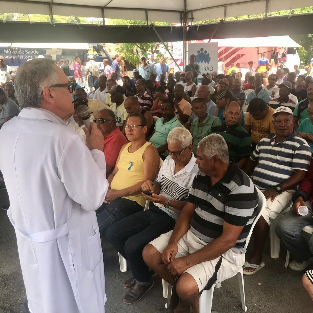 Saúde do homem: Fundação José Silveira realiza 4.700 atendimentos em ação conjunta com a Rede Bahia