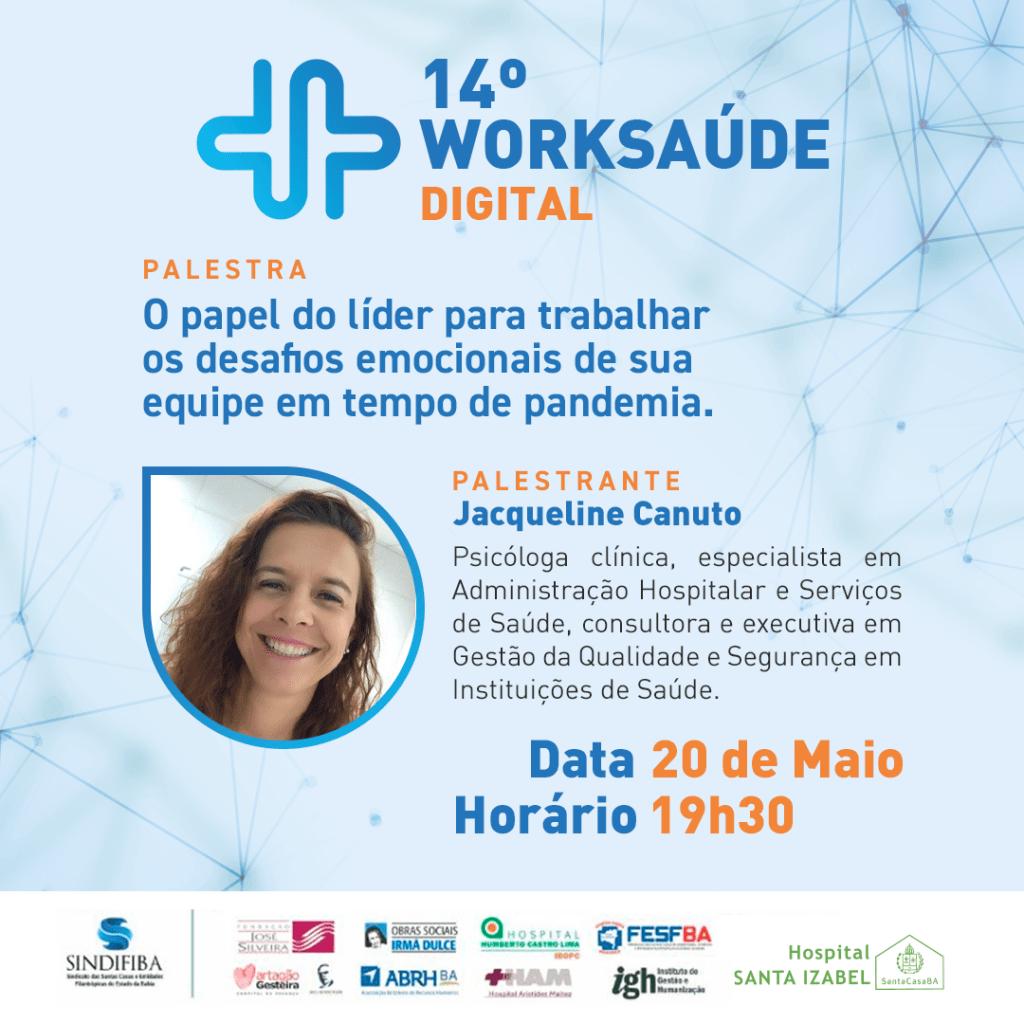 14º Worksaúde Digital – 20/5/21, 19h30