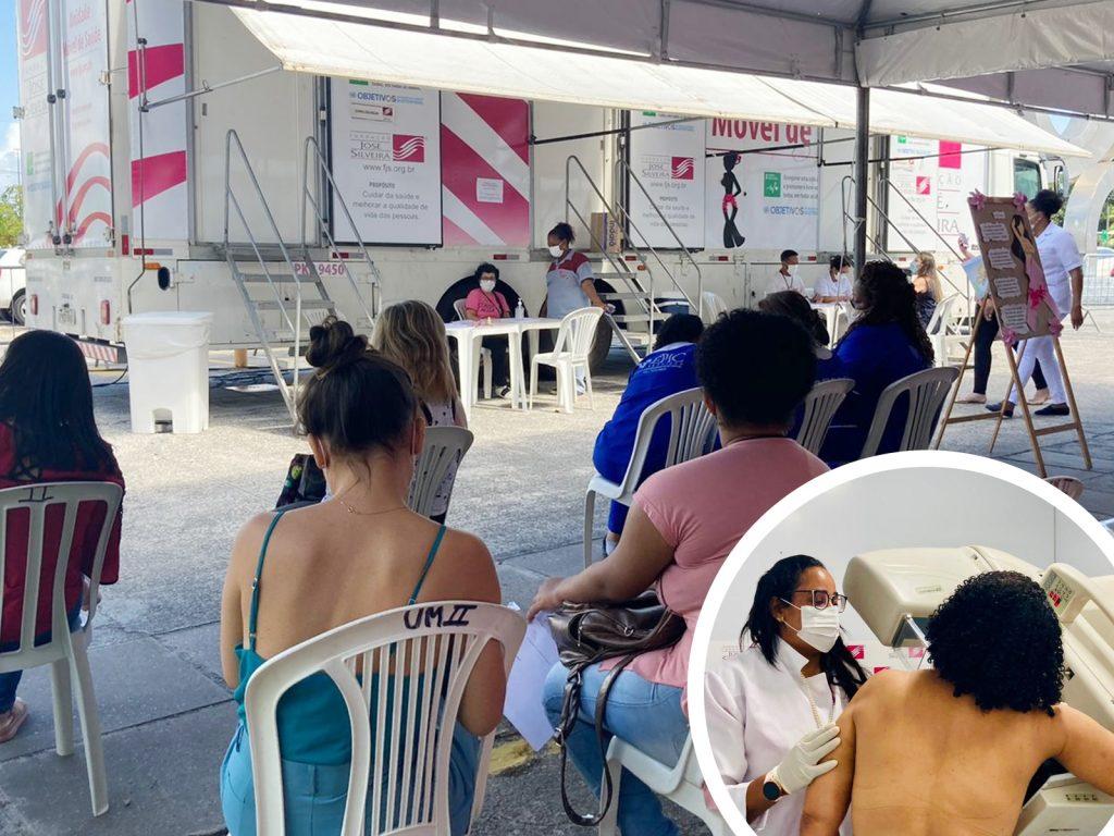 Fundação José Silveira realiza cerca de 71 mil procedimentos em 12 anos de atuação no Outubro Rosa
